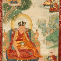 第十四噶瑪巴特秋多傑 (Thekchok Dorje 1798-1868)