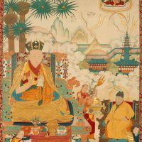 第五世噶瑪巴德新謝巴 (Deshin Shekpa 1384~1415)