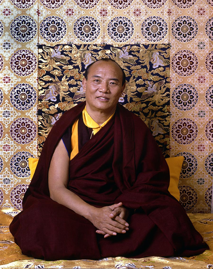 16th Karmapa by blair